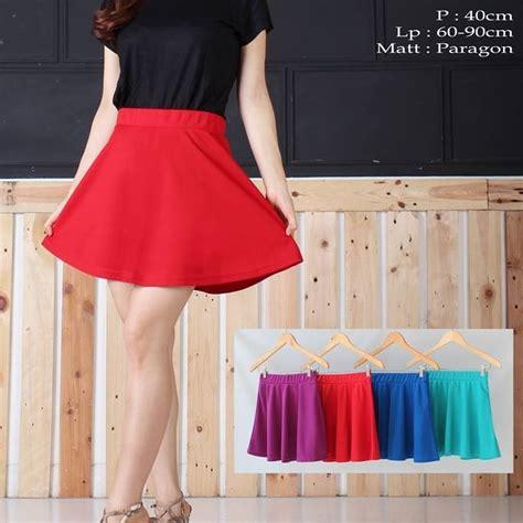 Rok Flare Skirt Import jual rok mini flare skirt blessing fashion