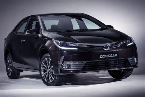 toyota indus motors indus motors to launch 2017 corolla facelift carspiritpk