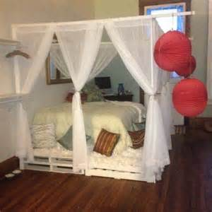 Diy Girls Bed Canopy by Diy Girls Canopy Bed Pictures Reference