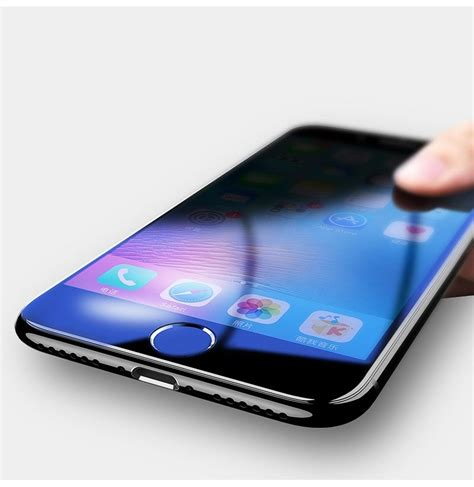 Tempered Glass 4d Curved Iphone 66s bakeey 4d curved edge tempered glass screen protector for iphone 8