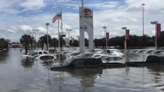 Toyota Dealerships Louisiana Four Dealerships Got The Worst Flood Damage Among Auto