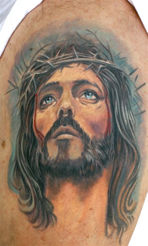 jesus face tattoo designs 254 best images about religious tattoos on