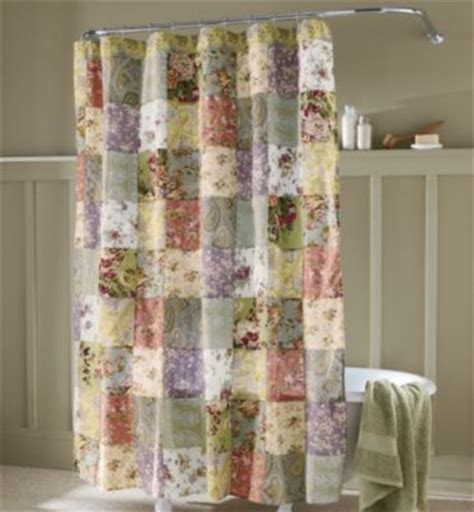 Country Style Shower Curtains Blooming Prairie Shower Curtain Cottage Style