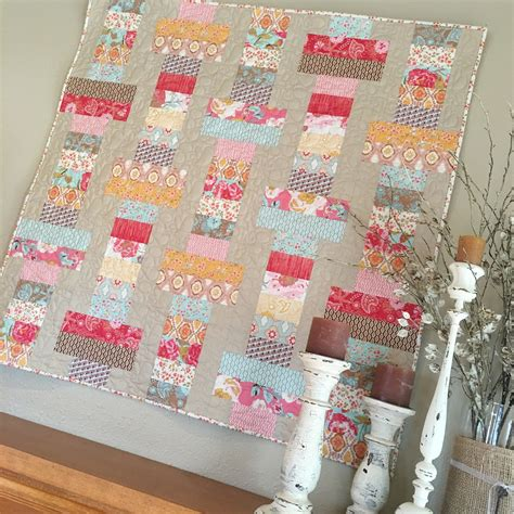 Quilt Shopping by Carried Away Quilting Jelly Roll Slice With Quarter Shop