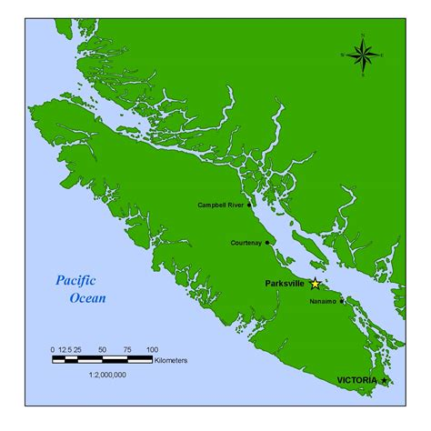 printable map vancouver island city of parksville about parksville