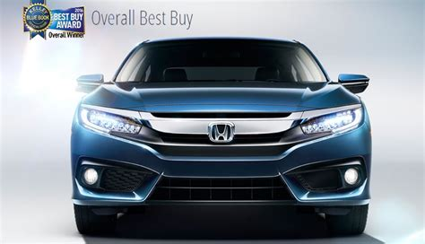 kelley blue book honda civic kelley blue book confirms you can t go wrong with the new