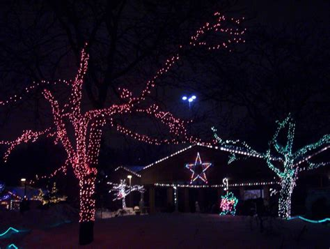 cleveland lights at the zoo hit the road travel zoo lights in cleveland see
