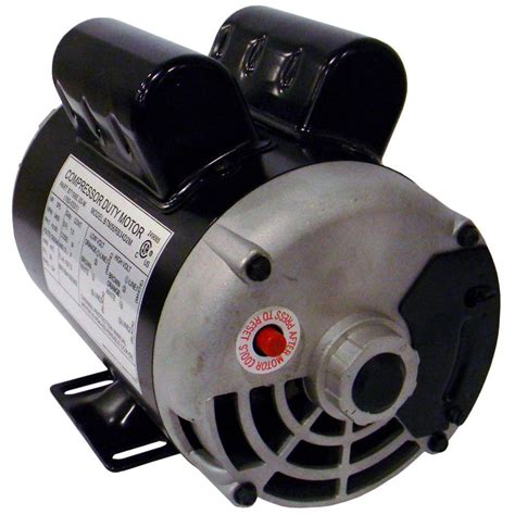 115 volt 1 9 rhp electric air compressor motor 160 0264 the home depot