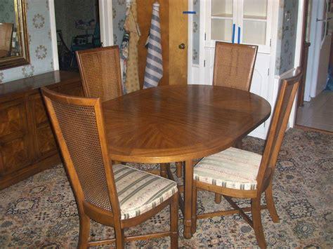 vintage 1969 drexel heritage compatica dining room set 4