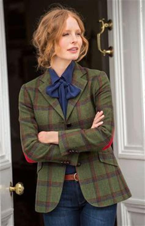 Jaket Typsich austine womens tweed jacket fashion equestrian the