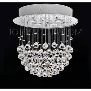 Iron And Crystal Chandeliers Crystal Bowl Four Light Chandelier