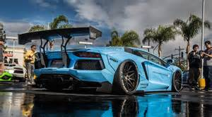 Liberty Walk Aventador Wide Body Arrives in America