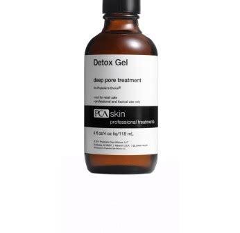 Pca Detox Gel Pore Treatment Directions by Detox Gel Pore Treatment пилинги для лица шеи век