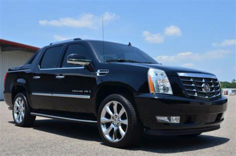 Cadillac Avalanche by Purchase Used 2007 Cadillac Escalade Ext Awd Avalanche Nav