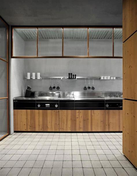 la cucina naturale la cucina in legno naturale e acciaio di minacciolo