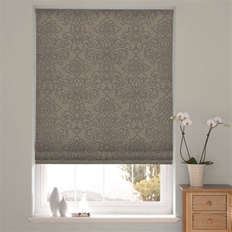 grey patterned roman blinds why grey is great for november and how to get the look