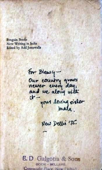 New Writing In India Adil Jussawalla 1974 Simple Joys Of Reading Second Books