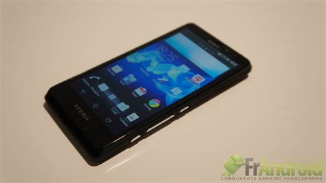 sony xperia t prise en du sony xperia t frandroid