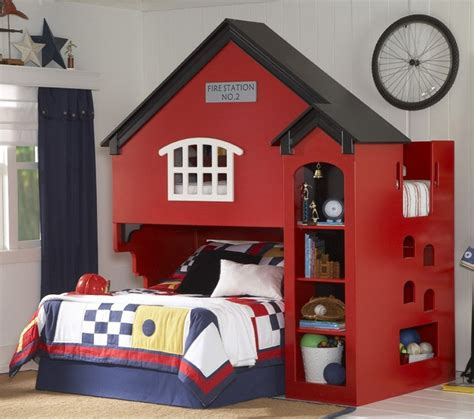 Firehouse Bunk Bed Loft Bed Firehouse Bedroom Ideas Pinterest Kid Loft Beds Loft Beds And Loft