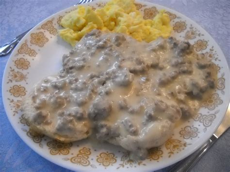 a season for all things hot sausage gravy n biscuits