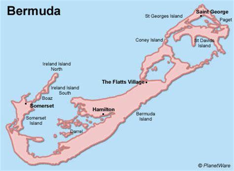 map of bermuda honeymoon rooftop wedding