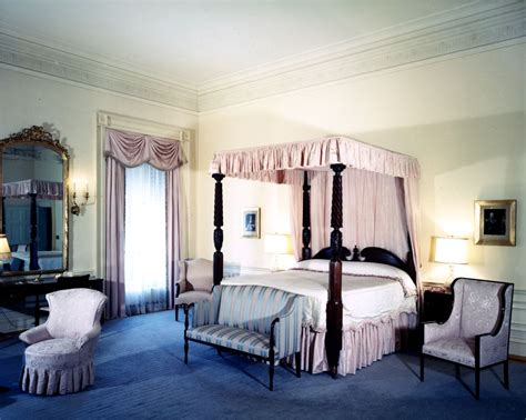 Presidential Bedroom by White House Rooms F Kennedy Presidential Library