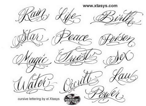 tattoo fonts tribal cursive letters for tattoos about lettering tribal