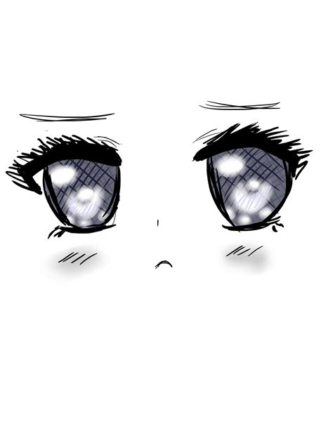 sad kawaii eyes by kekihaku on deviantart