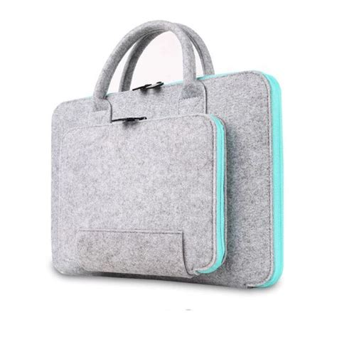 2016 new felt universal laptop bag notebook briefcase handlebag pouch for macbook air pro