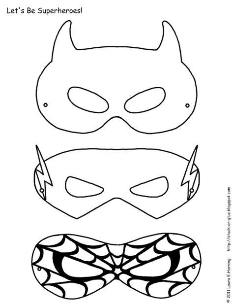 printable spiderman mask template diy superheroe masks oh my fiesta in english