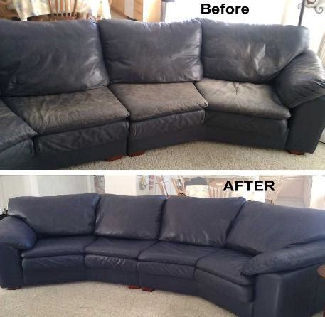 refurbish leather sofa leather sofa repair color restoration dye refinish