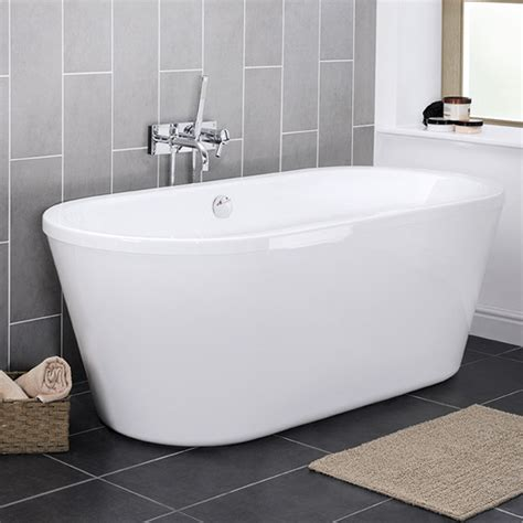 bfi bathrooms premier pool 1750 double ended round freestanding bath