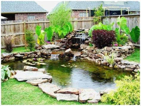 Small Garden Ponds Ideas Small Garden Pond Design Ideas Lighting Furniture Design