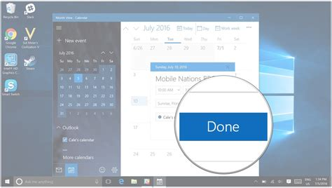 how to use calendar on windows 10 pc windows central