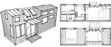 Micro Houses Plans Tiny Living Sustainable Living