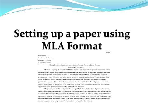 mla style paper mla format essay help resume help example never with