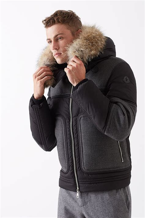 Jaket Pria Bc Be060 Windbreaker Outdoor Jacket Gray Black Micro it s never early to prep for the big chill w moncler saksmen the fifth avenue