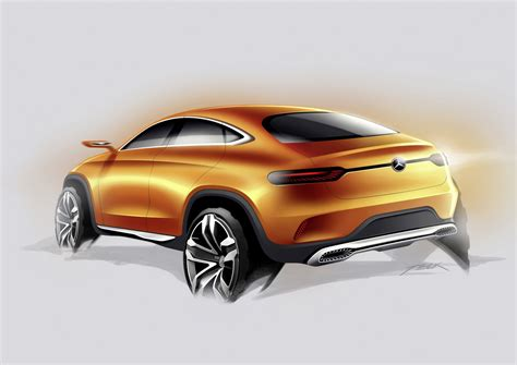 Mercedes Concept Coupç Suv Mercedes Concept Coupe Suv Revealed In Beijing Motor Show