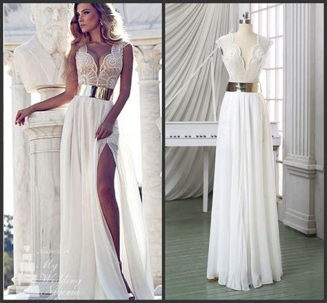 aliexpress buy huafei new fashion aliexpress buy formal white chiffon dress vestido de festa new fashion v