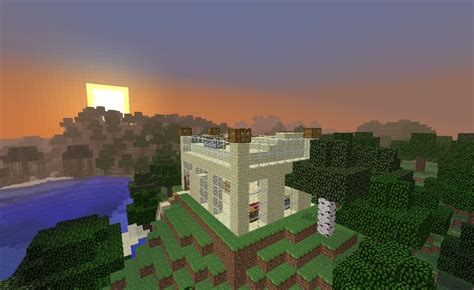 beach side house modern sandstone and glass beach side house creative minecraft project