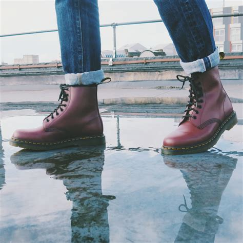 Dms Cp Forever Maroon dr martens 1460 smooth dr martens cherries and change