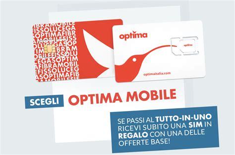 optima mobile optima mobile ecco tutte le tariffe nuovo mvno su
