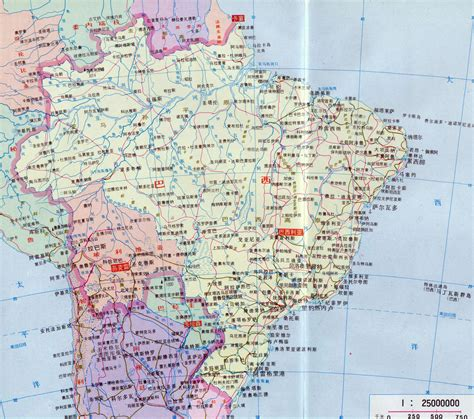 map of brazil cities large detailed map of brazil with roads and cities in