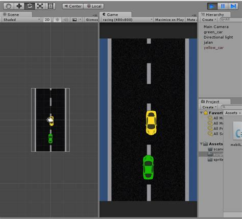 membuat game racing membuat game racing 2d dengan unity part 2 lawan dan