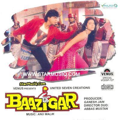 download mp3 from bazigar baazigar 1993 hindi movie cd rip 320kbps mp3 songs music