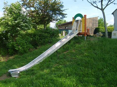 Rutschbahn Garten