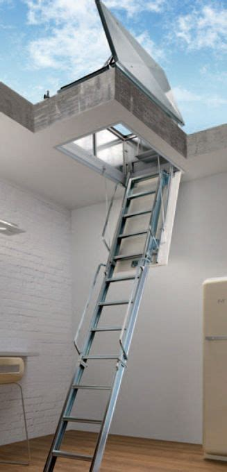 ladders for decorating stairs roof terrace loft ladders from stair solutions roof