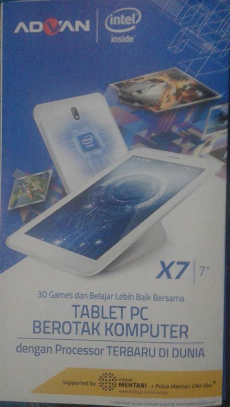 Tablet Advan Berotak Canggih Launcing Advan X7 Tablet Lokal Berotak Canggih