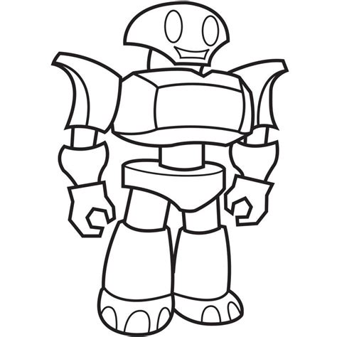 Coloring Page Robot pictures of robots to color coloring home
