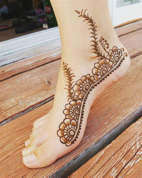side henna tattoos henna side foot www pixshark images